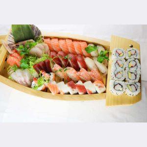 hisyou ristorante di sushi take away consegna a domicilio - sushi e sashimi barca party