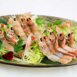 hisyou ristorante di sushi take away consegna a domicilio - sushi e sashimi scampi crudi
